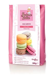Premix pentru Macarons de Paris roz 300g ML5115-6 MADAM