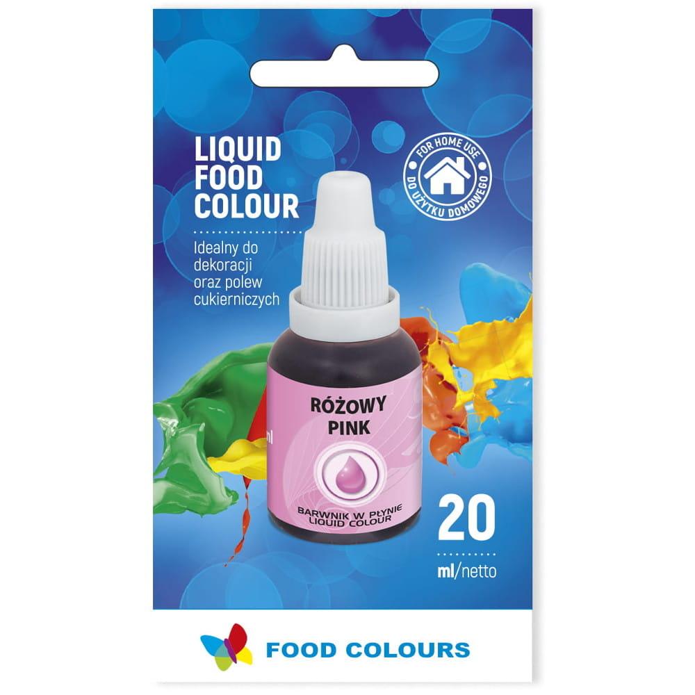 Colorant lichid alimentar 20g roz WS-La09  FC