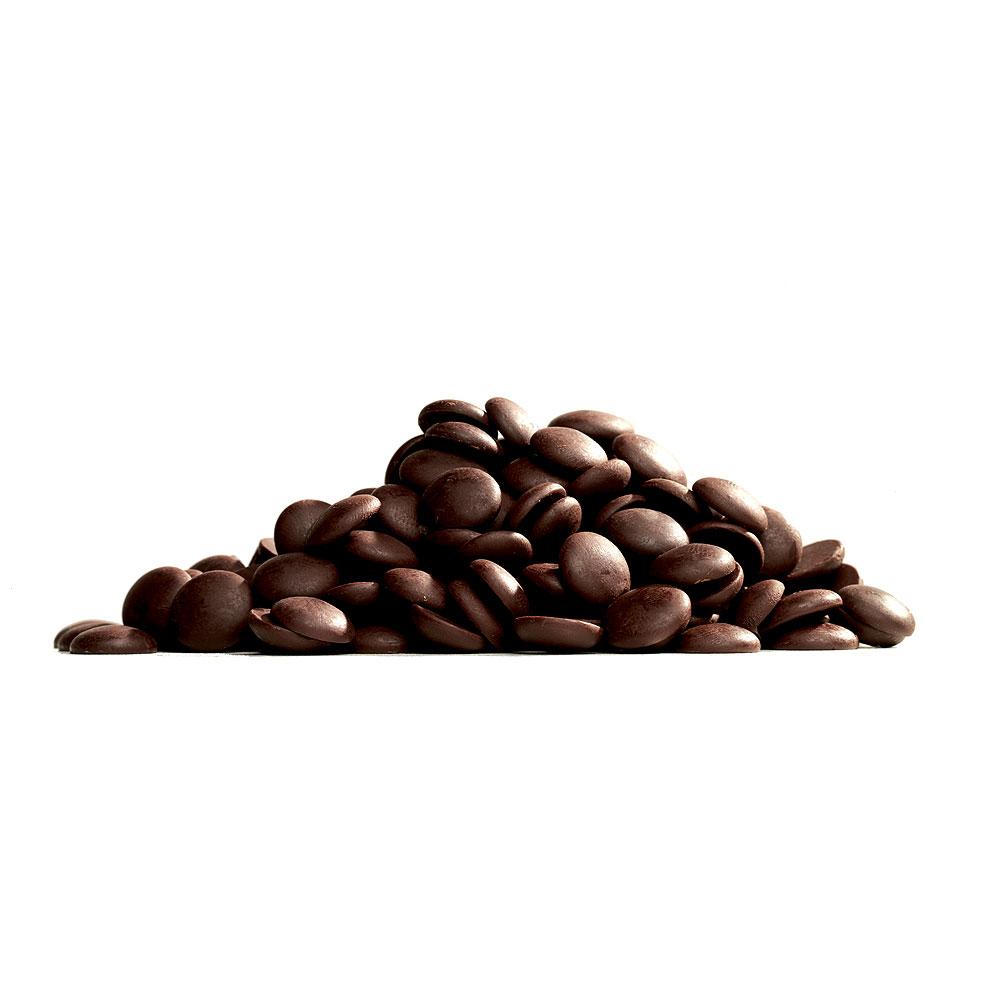 Pastile din ciocolata neagra Belgiana 55% 250 gr.