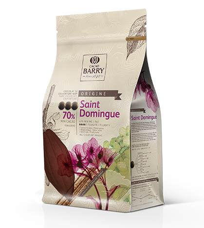 Ciocolata neagra SANTO DOMINGO 2,5 kg CHD-Q70SDO-E4-U70 BARRY