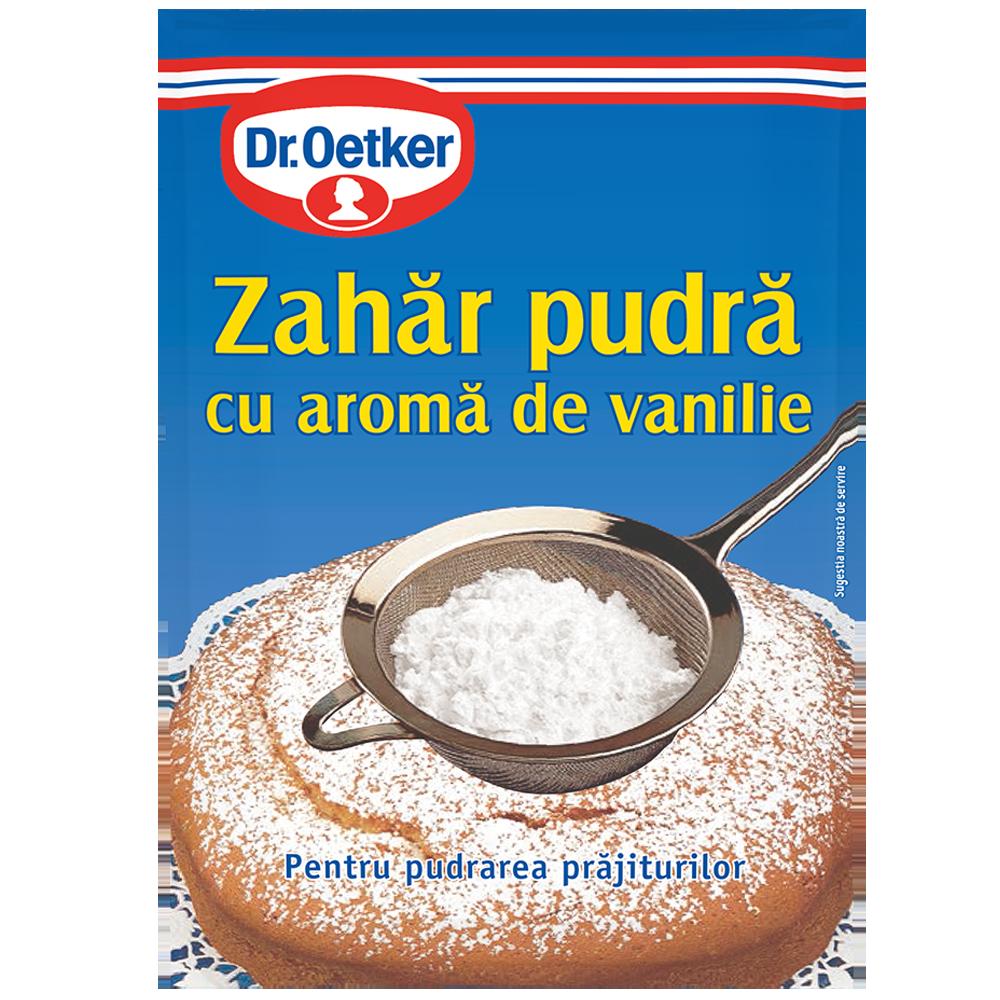 Dr.Oetker Zahar pudra aromatizat 80 g