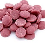 Pastile din ciocolata roz Ruby 500 gr.