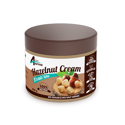 Crema din alune de padure 100% 4pro 250g_WAN