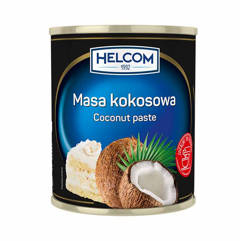 Pasta de cocos 430g Helcom GT