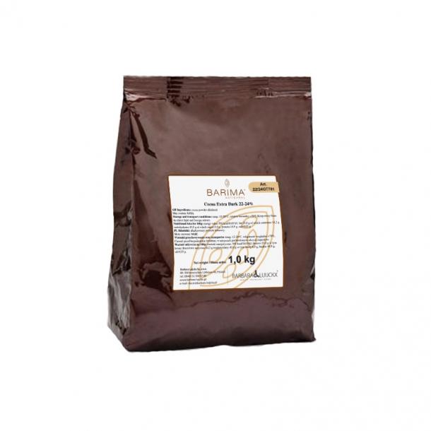 Cacao EXTRA DARK 22-24% 1kg 22/24GT781 BARB