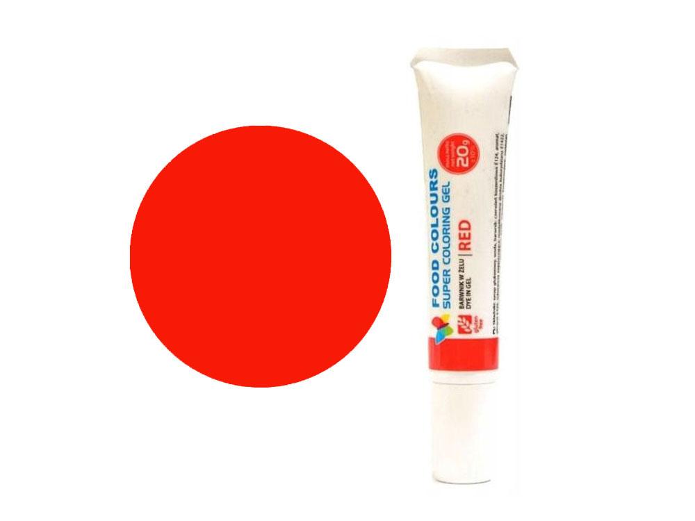 Colorant alimentar in gel rosu 20g WSG-T01 FC