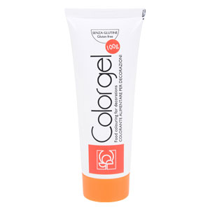 Colorant alimentar - gel ORANGE (100 g) 23133 MOD