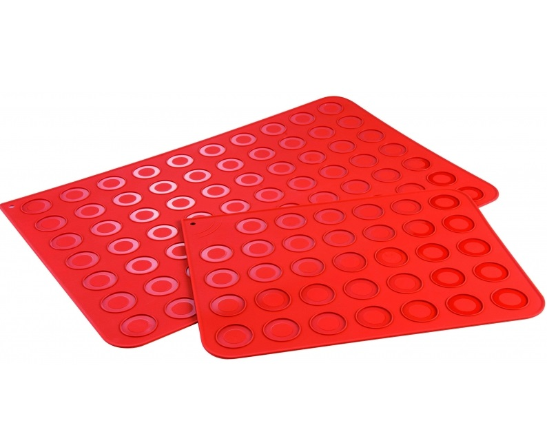 Covoras din silicon MACARONS 60X40 ROSSO MAT 30TM6001R