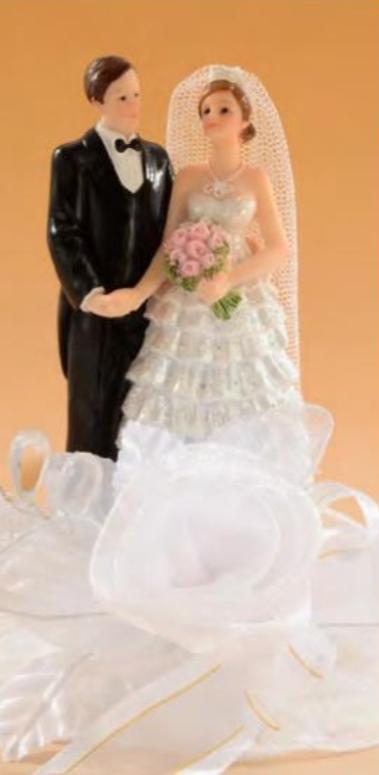 Decoratie de nunta MIRE SI MIREASA 28456 MOD