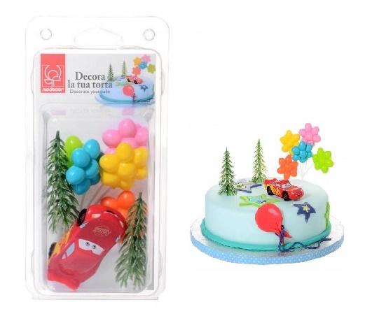 Jucarii din plastic p/u decor cu baloane  21912 MOD