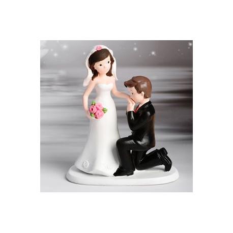 Decoratie de nunta WEDDING COUPLE HANDKISS 6 BUC 28475 MOD