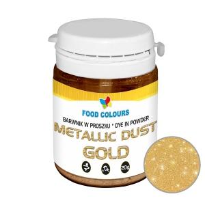 Colorant alimentar praf liposolubil 20g auriu WS-P-135 FC