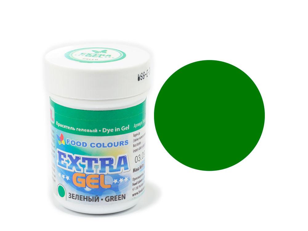 Colorant EXTRA gel 35g VERDE WSG-E-30 FC