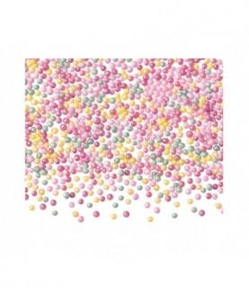 Perle asortate din zahar 1mm 100 gr. GPR