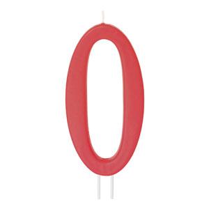 """Luminare rosie cifra """"0"""" 230840 MOD"""