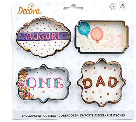 Decupatoare Cookie 4buc/set 0255087 DER