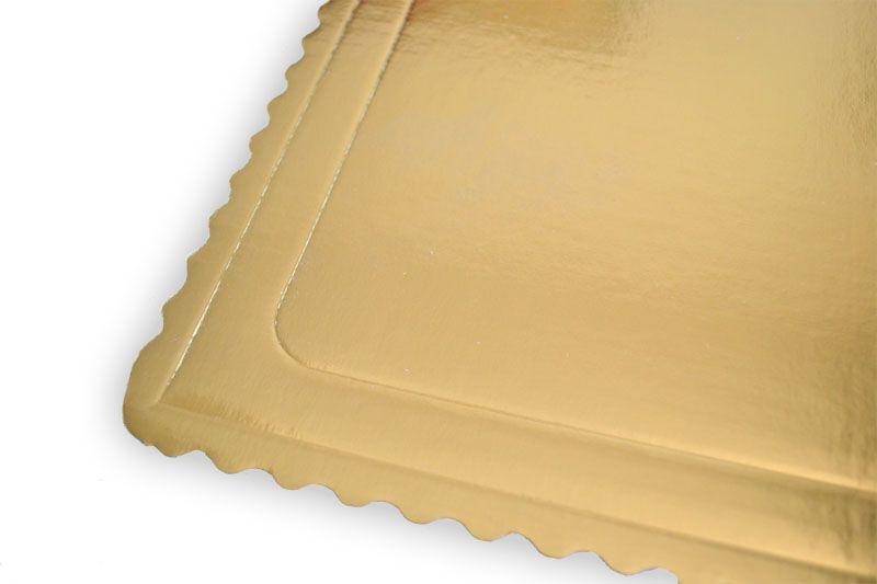 Platou auriu dreptunghiular din carton ref. 46x66 cm 3CA2308804_BND