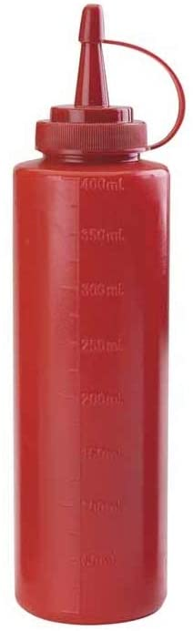 Dozator sosuri rosu 400 ml 61940R_LAC