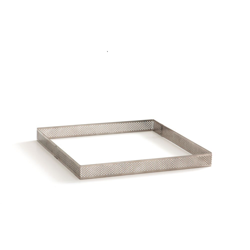 Inel perforat din inox 10x10 cm 0064041 DER