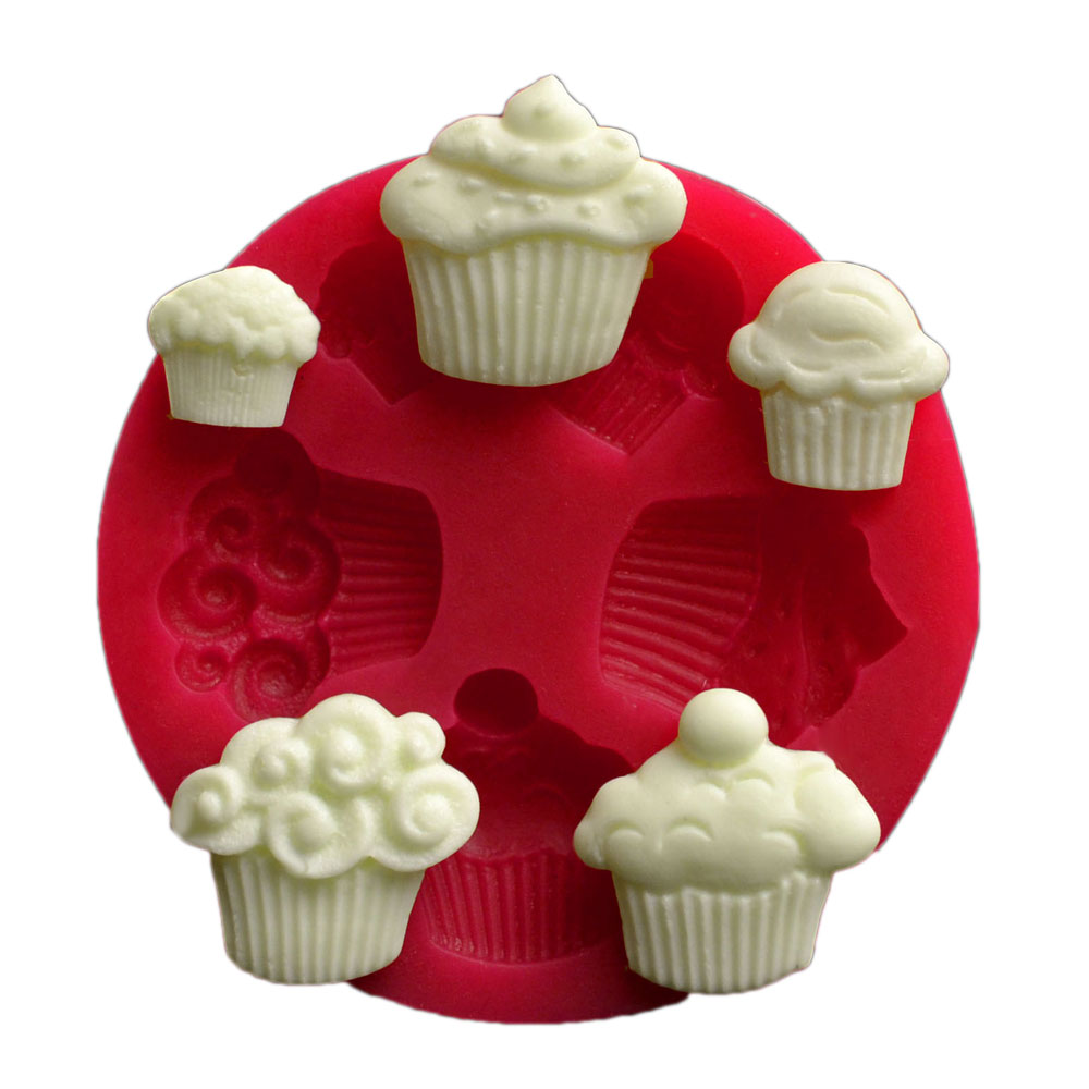 Forma din silicon 5 SMALL CUP CAKE 32496 CSL