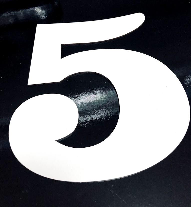 Forma cifra 5 PFL H32 SGM