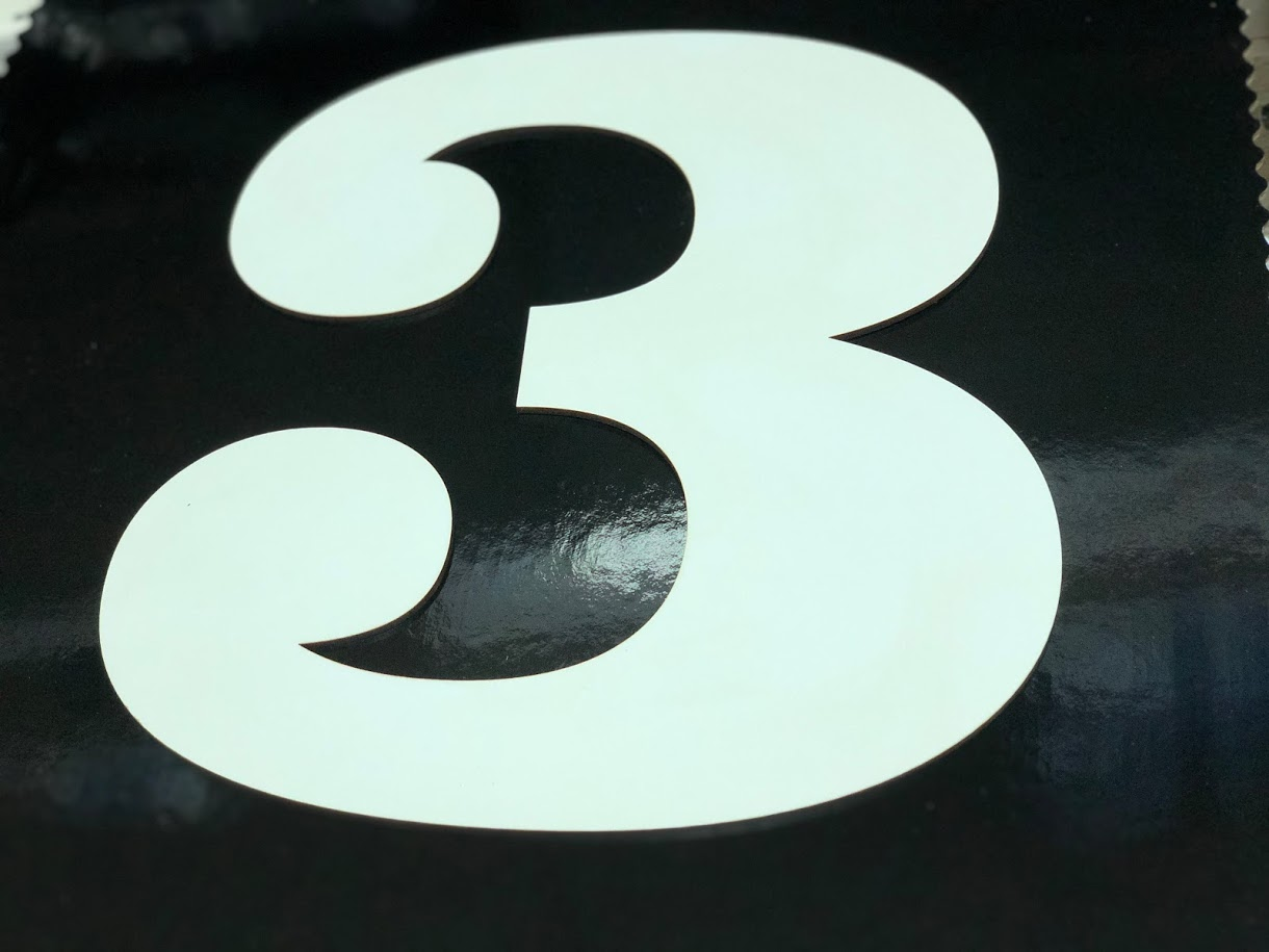 Forma cifra 3 PFL H32 SGM