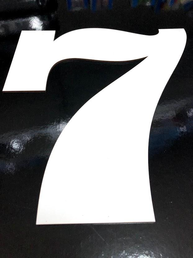 Forma cifra 7 PFL H32 SGM