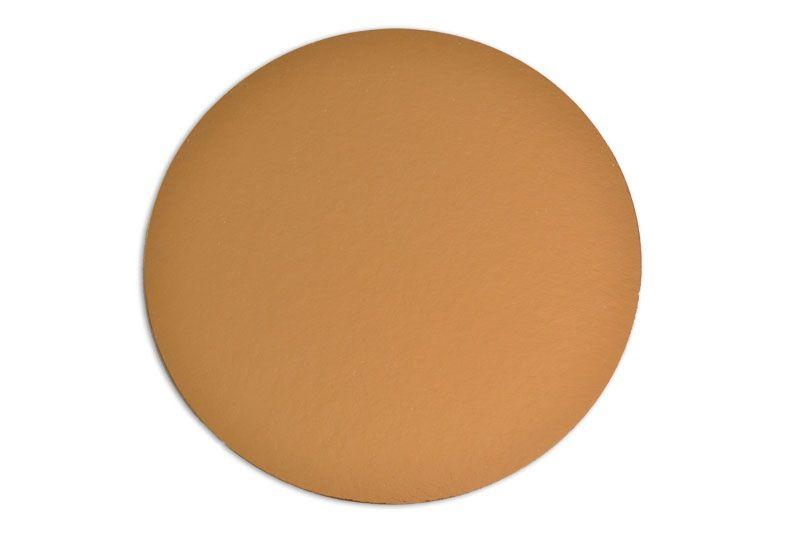 Platou auriu rotund din carton  D 16 cm 100 buc  3CA2300161_BND